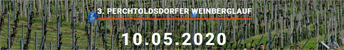 3. Perchtoldsdorfer Weinberglauf am 10.5.2020